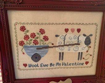 Thistles - Wool Ewe Be My Valentine