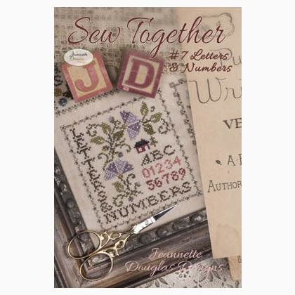 Jeannette Douglas  - Letters & Numbers (Sew Together nr 7)
