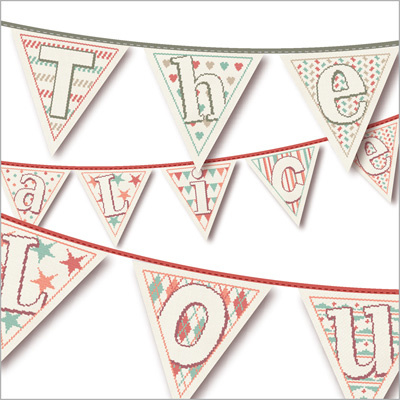 Lili Points - CL011 - Prénoms et fanions (voornaam en vlaggetje)