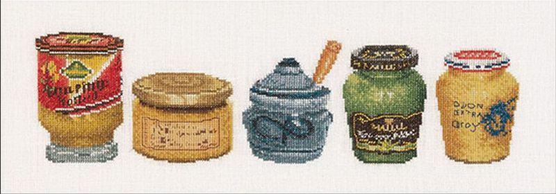 Thea Gouverneur - ref. 3046 - Mosterdpotjes