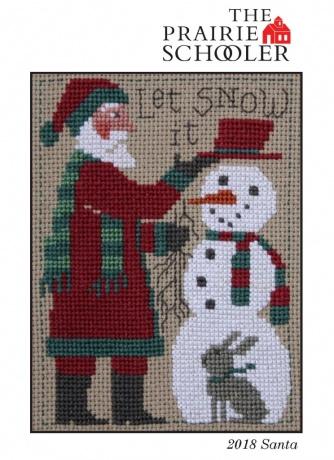 The Prairie Schooler - Santa 2018