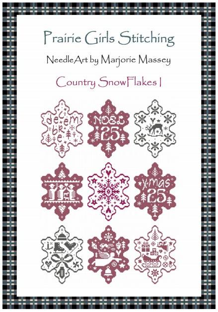 Marjorie Massey - Country Snow Flakes I (PR-23)