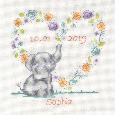 DMC - BK1879 - Elephant Baby