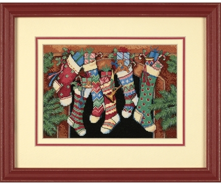 Dimension (petites) - The stockings were hung (8800)
