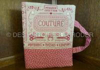 Des Histoires à broder - Cahier de couture (overtrek voor schrift) (pakket)