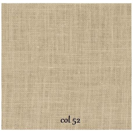 Zweigart - Belfast (12.6 fils/cm - 32 ct) - couleur 52 (Flax)
