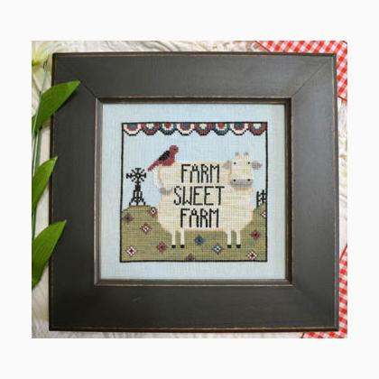 Annie Beez Folk Art - Farm Sweet Farm