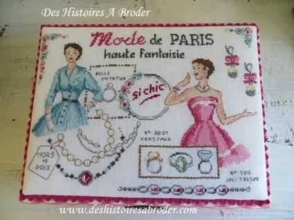 """Des Histoires à broder - Boîte """"So chic"""" (patroontje)"""