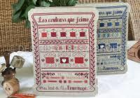 Des Histoires à Broder - Les couleurs que j'aime - rouge (de kleuren waarvan ik hou - rood)