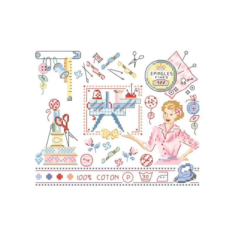 Les Brodeuses Parisiennes - A vos aiguilles (patroon)