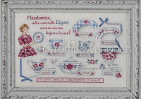 Des Histoires à broder - Les Dames de Digoin (grille)