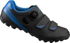 Shimano ME400 zwart blauw
