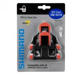 Shimano SM-SH10 SPD-SL rood vast