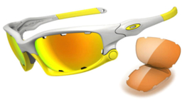 Oakley Split Jacket Lemon Peel Fire Iridium