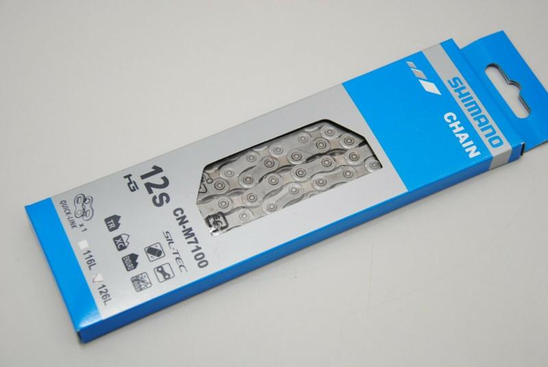 Shimano ketting CN-M7100 12S 126 schakels zilver