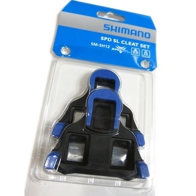 Shimano SM-SH12 SPD-SL BLAUW 2 GRADEN