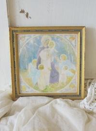 maria in een lijstje   VERKOCHT