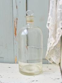 Glazen fles  VERKOCHT