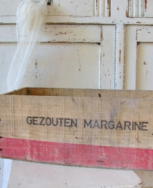Margarine kistje groot