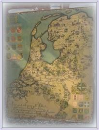 kaart van nederland  VERKOCHT
