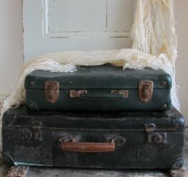 Koffer zwart  VERKOCHT
