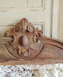 Houten ornament   VERKOCHT
