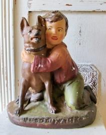 Jongetje met hond