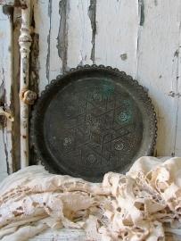 ronde platte schaal
