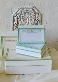 Pharmaseutische doosjes klein
