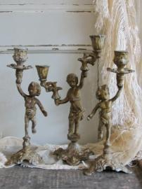 Bronzen jongetjes  VERKOCHT