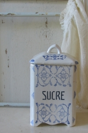 Suikerpot saksmotief   VERKOCHT