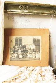 Oude klassenfoto