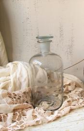 Oude apthekers fles