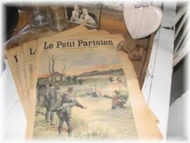 oude krant uit Parijs                   VERKOCHT