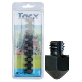 Harry's Horse Tacx kalkoenen 3/8 14mm (10 st.) met punt