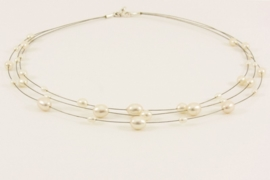 ___261591___   Collier draad zoetwater parels
