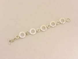 ___210940___ Zilveren armband Cirkels