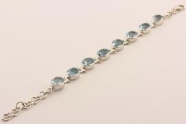 ___210974___ Zilveren armband met topaas