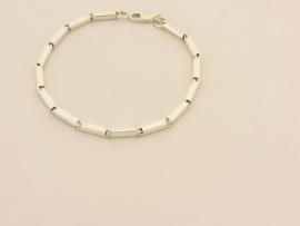 ___210910___ Zilveren armband staafjes