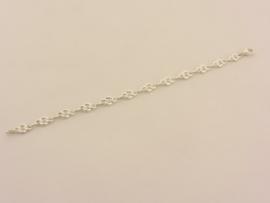 ___210207___ Zilveren armband samengestelde schakel
