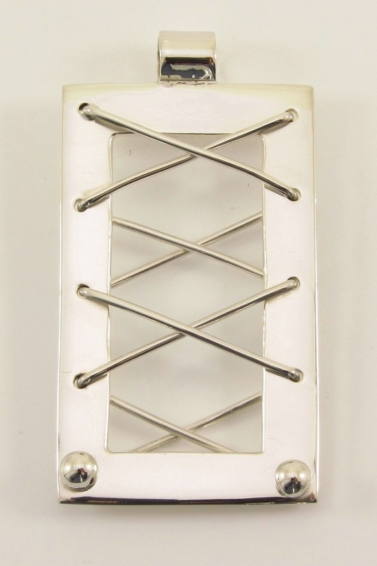___261345___ Zilveren hanger met draad