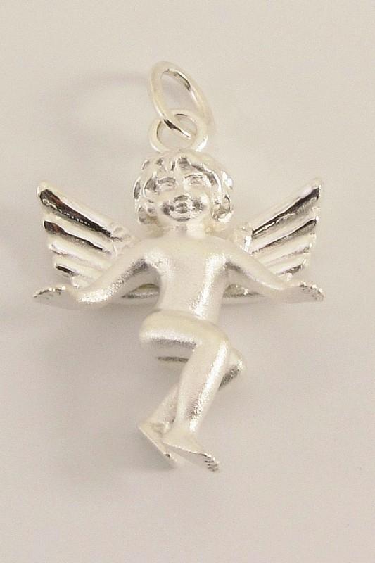 ___241031___ Zilveren hanger engeltje