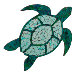 Walldeco Mosaic turtle
