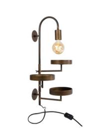 Wandlamp met 3 plateau's 45,8x26x68,5cm