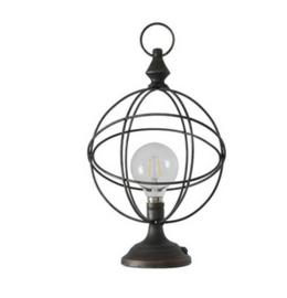 Lamp metal 20x20x35cm