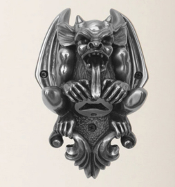Beergoyle wall mounted opener silver finish