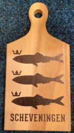 Tapasplank Scheveningen visjes zwart