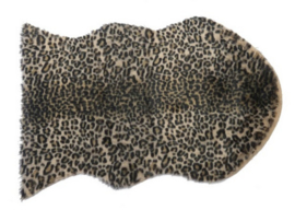 Artificial panther skin rug 60x90cm
