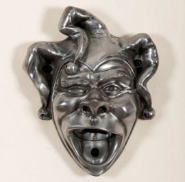 Jester wall mounted opener silver finish