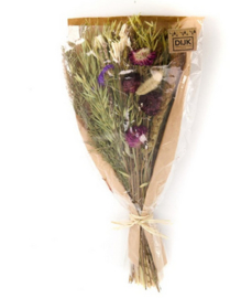 Dried flower bouquet 42-45cm - Purple
